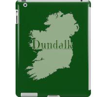 Dundalk Ireland with Map of Ireland iPad Case/Skin