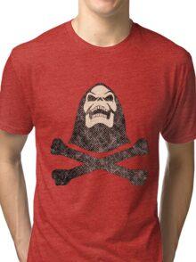 Destressed skeleman Tri-blend T-Shirt