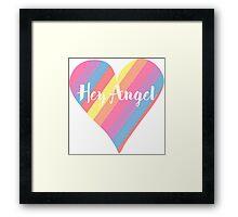 Hey Angel ( One Direction ) Framed Print
