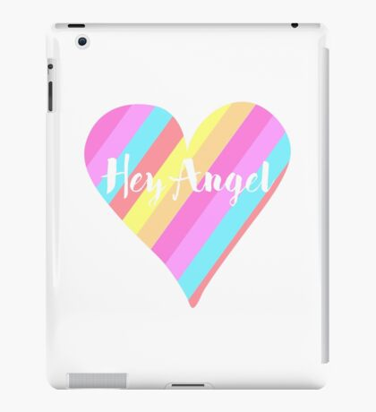 Hey Angel ( One Direction ) iPad Case/Skin