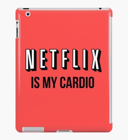 NETFLIX IS MY CARDIO iPad Case/Skin