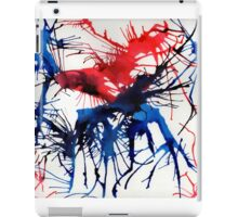Abstract ink splash iPad Case/Skin