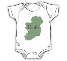 Ennis Ireland with Map of Ireland One Piece - Short Sleeve