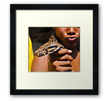 Scaled Boa Framed Print