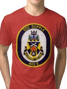 AOE-6 USS (USNS) Supply Tri-blend T-Shirt