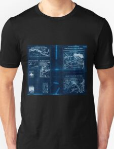 Civil War Maps 1909 War maps and diagrams 03 Inverted Unisex T-Shirt