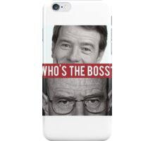 Hal vs Heisenberg iPhone Case/Skin