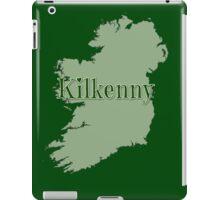 Kilkenny Ireland with Map of Ireland iPad Case/Skin
