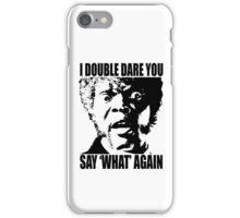 Pulp Fiction Samuel L. Jackson What T-shirt iPhone Case/Skin