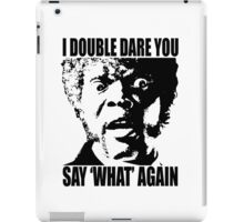 Pulp Fiction Samuel L. Jackson What T-shirt iPad Case/Skin