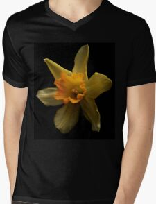First daffodil of spring Mens V-Neck T-Shirt