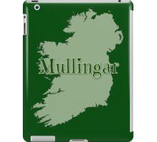 Mullingar Ireland with Map of Ireland iPad Case/Skin