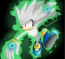 Silver the Hedgehog by HFitz-Draw4Life