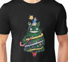 Totoro Christmas Tree Unisex T-Shirt