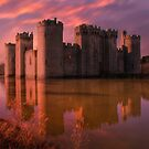 Dawn At The Castle by Dave Godden
