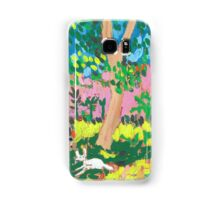 Dog Day in the Park Samsung Galaxy Case/Skin