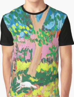 Dog Day in the Park Graphic T-Shirt