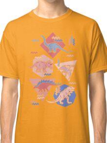 90's Dinosaur Pattern - Rose Quartz and Serenity version Classic T-Shirt