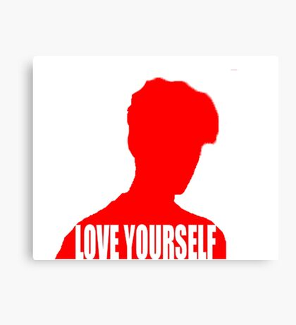 Love Yourself (Justin Bieber) Canvas Print