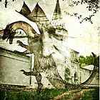 "The Wizard and the Church Dragon (Collab. with ""JR Garland"") by ☼Trena S☼"