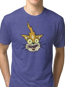 Squanchy Rick and Morty Tri-blend T-Shirt
