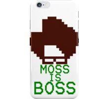 Moss Is Boss iPhone Case/Skin