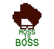 Moss Is Boss Photographic Print