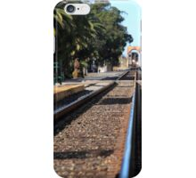 Ventura Train Station iPhone Case/Skin