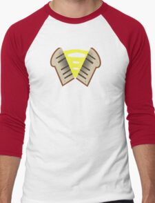 My little Pony - Cheese Sandwich Cutie Mark V3 Men's Baseball ¾ T-Shirt