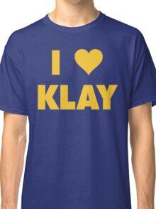 I LOVE KLAY Thompson Golden State Warriors Basketball Classic T-Shirt