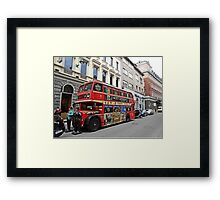 City Lounge Framed Print