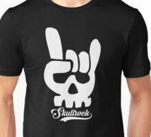 Skull & rock v2 Unisex T-Shirt