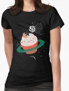 Planet Cupcake Womens Fitted T-Shirt