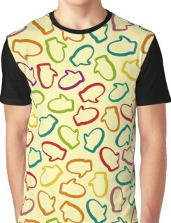 Winter pattern with mittens Graphic T-Shirt