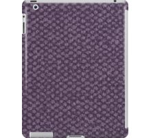 Purple vinyl texture iPad Case/Skin