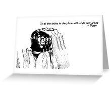 biggie  Greeting Card