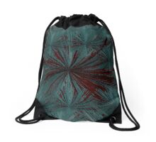 Eclipse Japanese Maple Lotus Blossom  Drawstring Bag