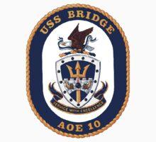 AOE-10 USS (USNS) Bridge Kids Tee