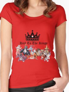 Hail to the kings Women's Fitted Scoop T-Shirt