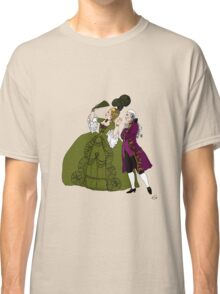 Amazed Rococo couple Classic T-Shirt