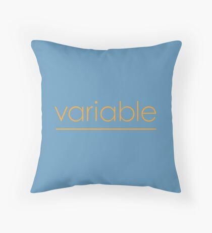 Variable Throw Pillow