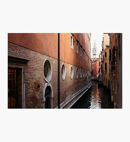 Venice, Italy - Palaces and Side Canals Photographic Print