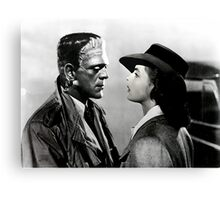 Frankenstein in Casablanca Canvas Print