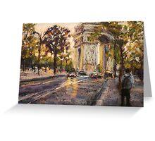 Arc de Triomphe de L'Etole, Paris Greeting Card