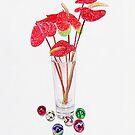 Anthurium Vase by joeyartist