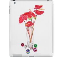 Anthurium Vase iPad Case/Skin