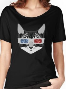Retro Cat Women's Relaxed Fit T-Shirt