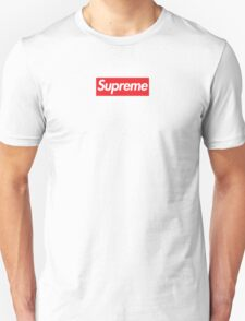 SUPREME RED BOX LOGO (PERFECT PLACEMENT & SIZE) T-Shirt
