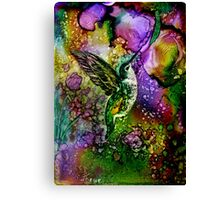My Little Hummingbird Canvas Print