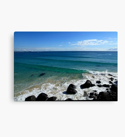 Greenmount Point Gold Coast Canvas Print